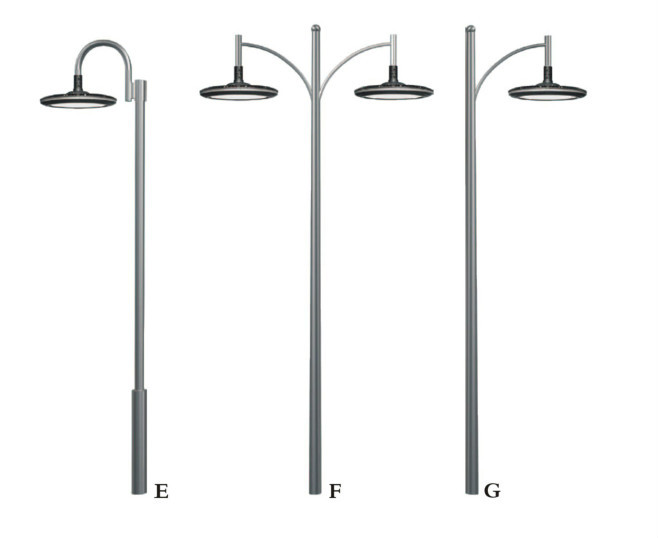 Modern outdoor stainless led garden lamp posts buy for Installer un lampadaire exterieur