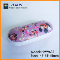 High End Colorful Mickey Kids EVA Glasses Case