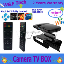 smart HD23 webcam skype camera tv box flash player wifi smart tv box