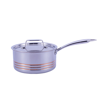 Quality And Quantity Assured Dependable Performance 304 sainless steel amc saucepan shallow