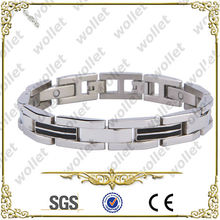 Black Plated Magnetic German Stainless Steel Jewelry