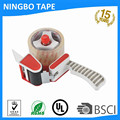 Adhesive packing tape with Gun