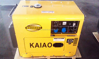 2015 New Types of Electrical Power Diesel Silent Generator 6KVA/5.5kw !