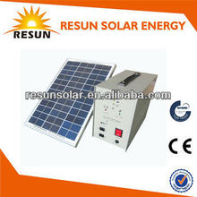 off-grid small portable solar energy system 10W for light or mobile charge best price from China