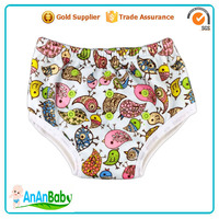 Stock Sale Waterproof Bamboo Side Snap Kids Potty Training Pants Factory