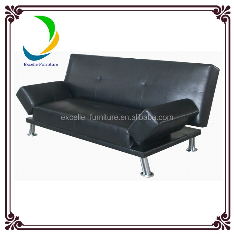 Designs italian leather sleeping unfolding sofa bed