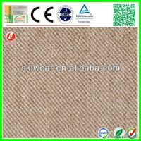 Factory wholesale spandex brushed cotton twill fabric