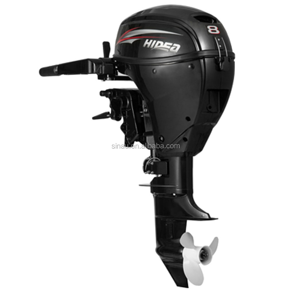 China 8 hp 4 stroke inflatable boat engine/outboard motor