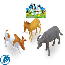 PVC Realistic Stuffed Animal Plastic Toys Manufactures/Custom make Plastic Wild Animal OX Bull