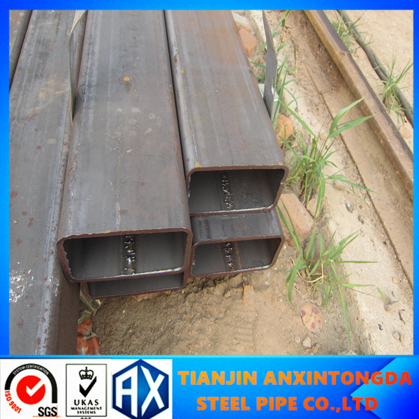 "89X89 asian asia tube/bare steel pipe for bridge/8"" sch40 steel tube in stock"