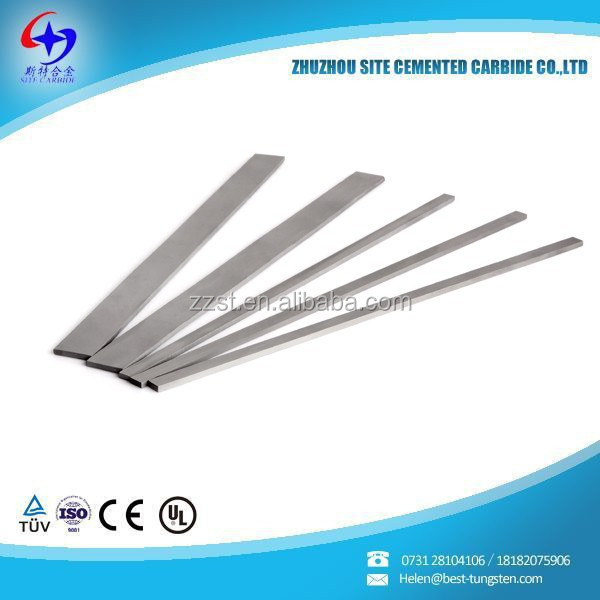 High Quality Cemented carbide <strong>strips</strong>/flats for cutting parts