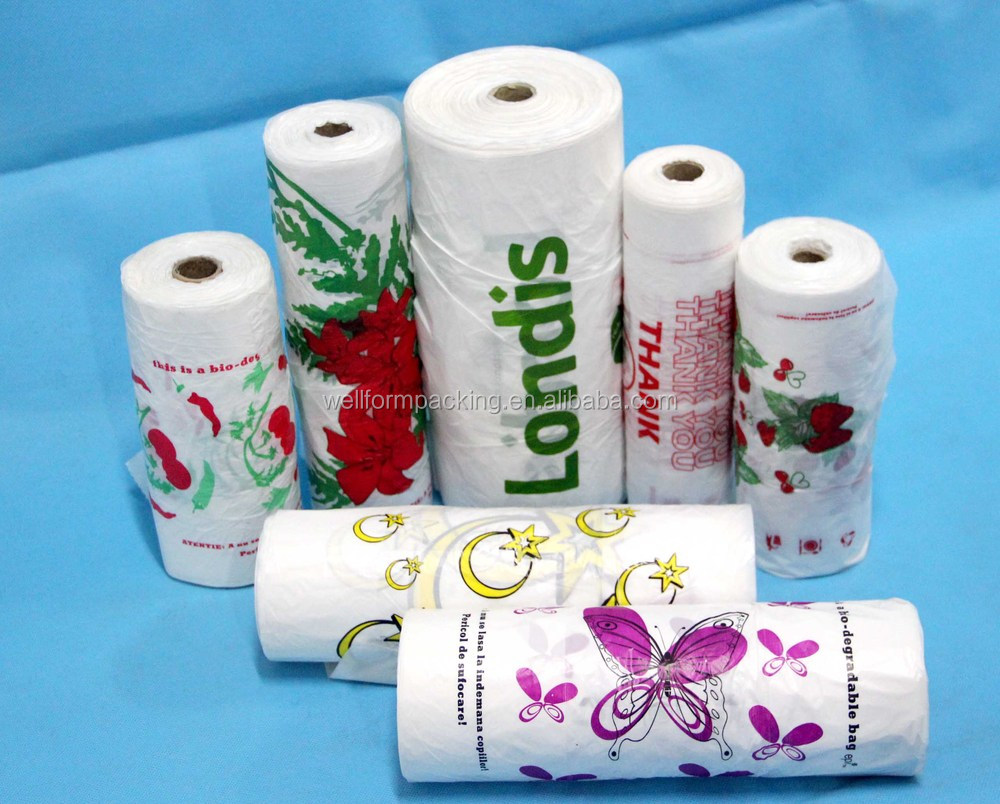 China supplier hot selling plastic merchandise bags at for Cheap t shirt bags wholesale
