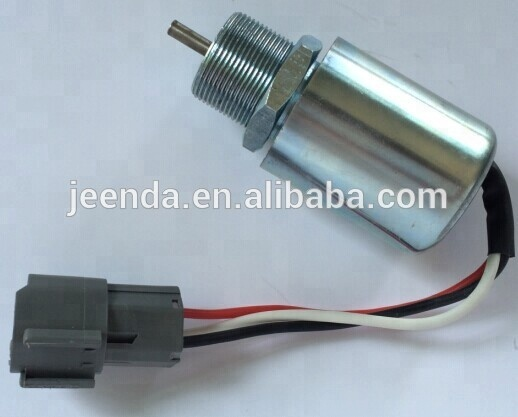 Aftermarket Stop solenoid 30A8720402 Fuel shut off solenoid 30A87 20402 12V For Mitsubishi <strong>Engine</strong>