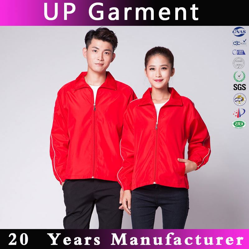 China embroidery 100% polyester sports jackets