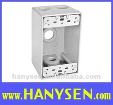One-Gang Aluminum Weatherproof Junction Box FSB