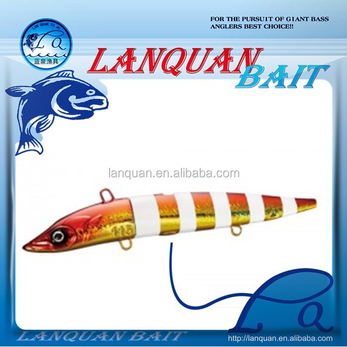 2016 new japanese lead head hard lure minnow hard plastic fishing lure LQ1230