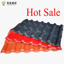 Building construction ASA PVC synthetic resin tile china products corrugated plastic roofing sheets