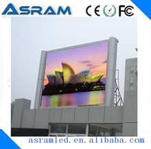 super high brightness china hot sales full color vedio single pole led bulletin board make led display board