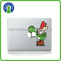 For ipad mini/ mobile phone destructible glossy waterproof electrostatic vinyl sticker