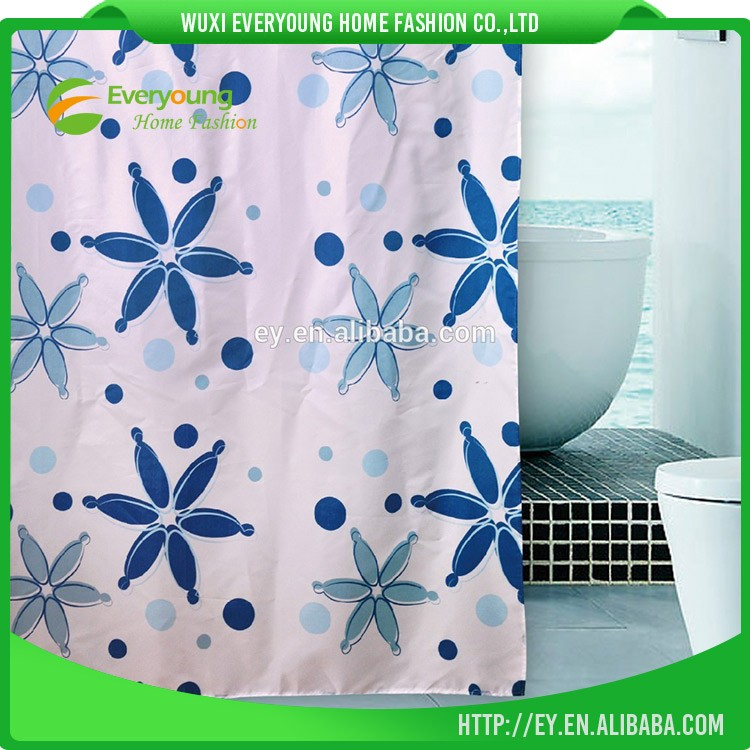 Lovely Dolphin Polyester Beautiful Shower Curtains/Vinyl Shower Curtain