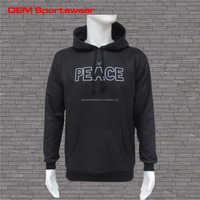 Wholesale unisex sports zipper hoodies gym fleece hoodie