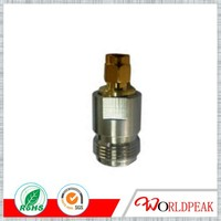 RF Adapter N female to SMA male Connector Straight Flange Type