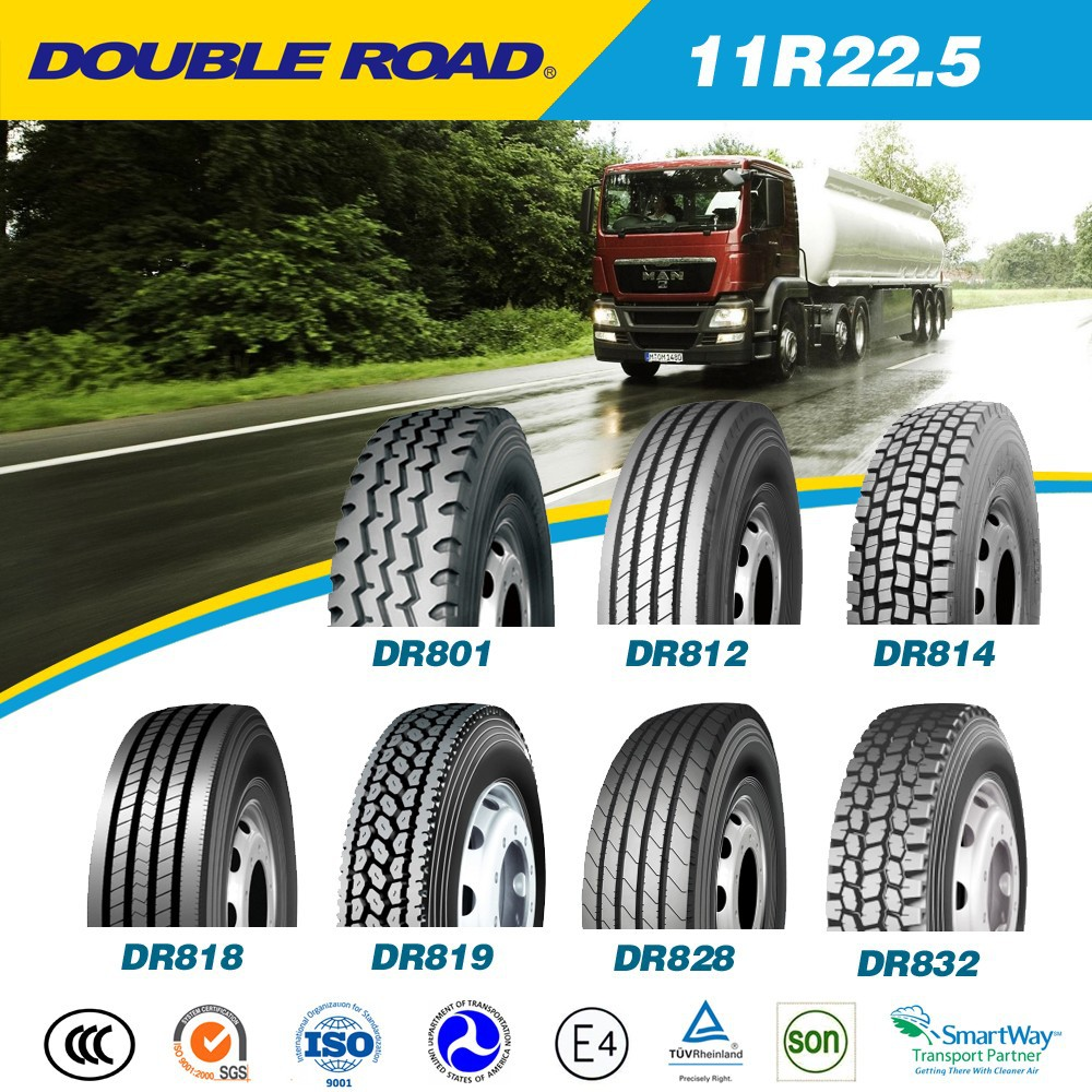 DOT 11R22.5 11R24.5 295/75R22.5 truck tires for USA, Latin America market
