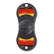 Germany Flag Style EDC Hand Fidget Spinner Focus Toy