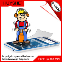 HUYSHE tempered glass screen protector for htc one mini