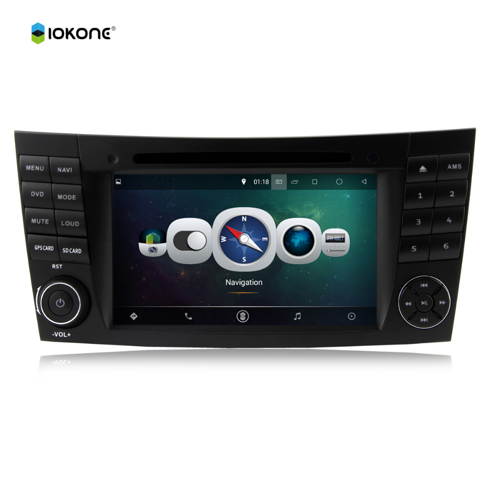 Android 4.4 quad-cores HD car gps navigation FM AM Bluetooth usb sd ipod for mercedes-BENZ E-Class W211/ CLS W219