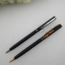 Business gift metal ballpoint pen,Logo customized metal ballpoint pen,cheap ballpoint pen