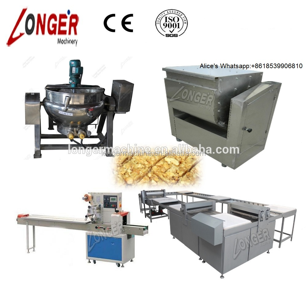 Commercial Peanut Candy/Sesame Bar/Sunflower Sugar Making Machine