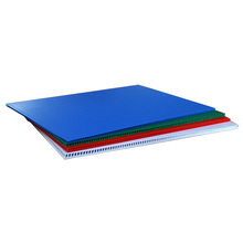4Mm Blue Red Yellow & White Pp Hollow Corrugated Plastic Board