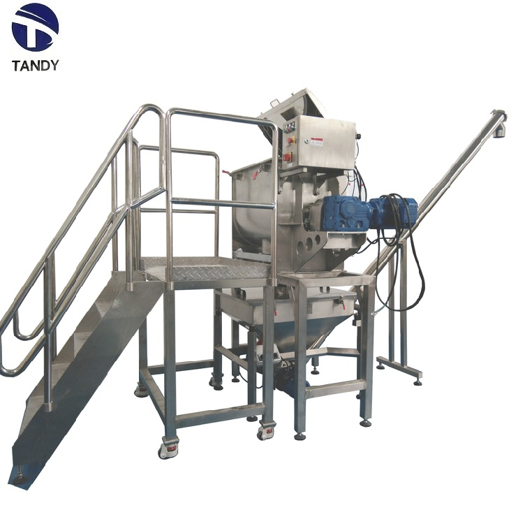 Stainless  steel  industrial  heating  mixing  machine  for  chemical  food
