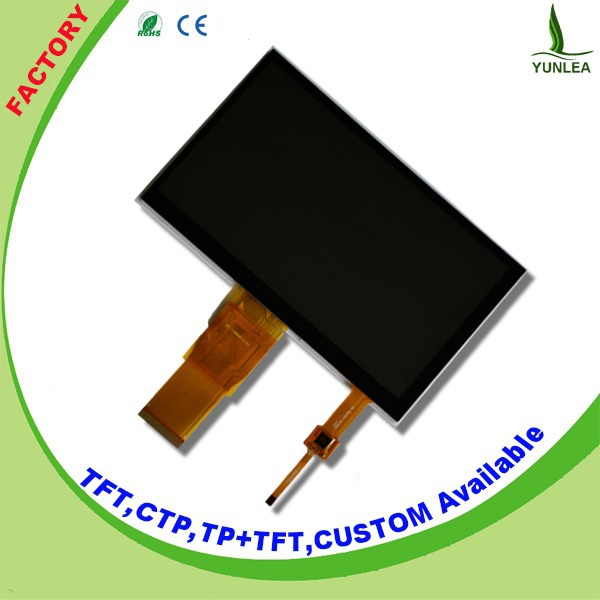 TFT LCD color monitor projected capacitive 7 inch smart glass Touch Screen Module