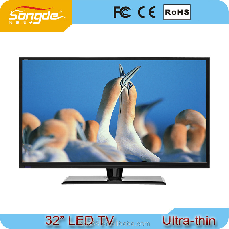 Popular Series Highly Cost Effective Ultra Slim 32'' LED TV Stock LED TV