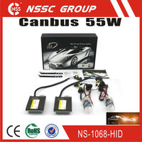 NSSC Hot Sale H7 55W Xenon bulbs Canbus AC ballast 55w hid kits