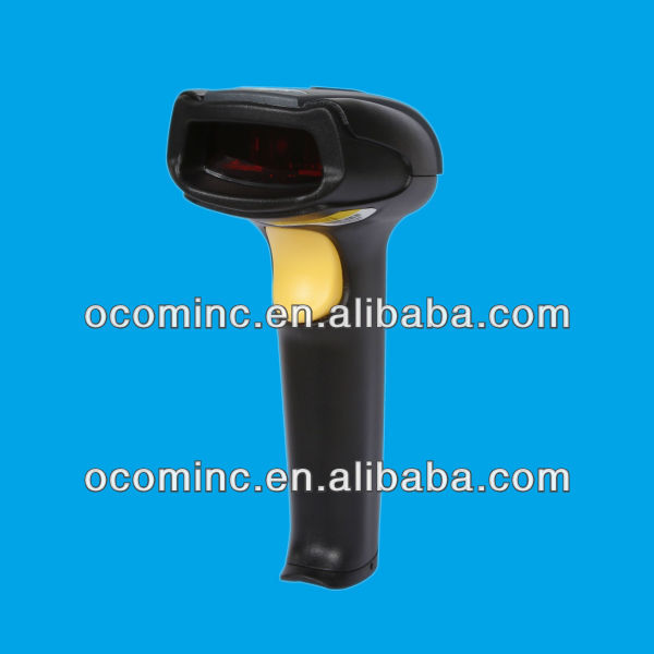 OCBS-L009-<strong>R</strong>-W rs232 grey 32 bit handheld pos barcode scanner