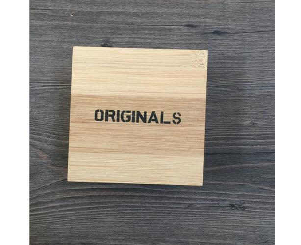 Mini gift packing engraved logo wooden box for sale