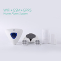 Android/IOS App control WiFi GSM GPRS alarm system for home security WiFi alarm system with RFID keypad