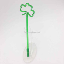 New design promotion plastic drinking straw ball point pen