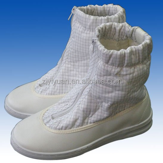 ESD shoes for cleanroom and anti slip footwear