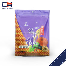 fast food custom packaging standing up snack pouch cheap products in alibaba