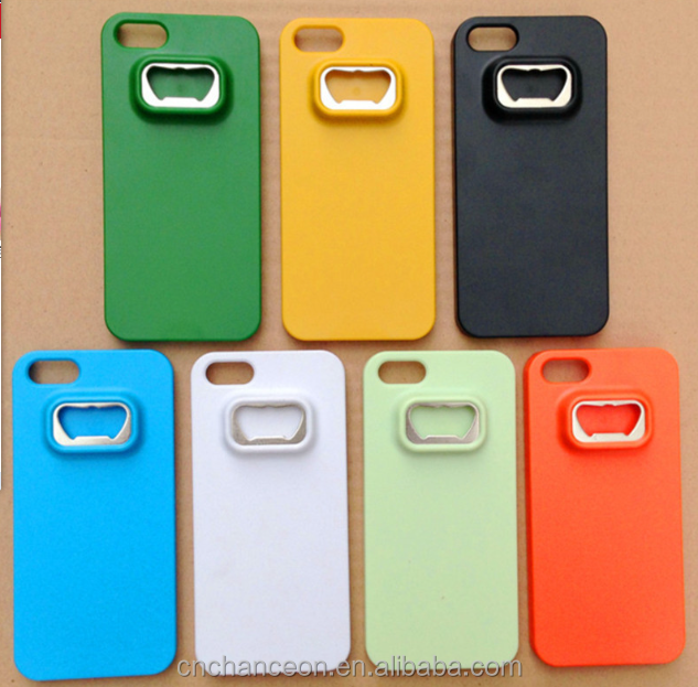 New Style beer bottle opener case ABS phone case for iphone 5/6/6plus and Samsung series CO-ABS-007