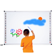 school supplies school classroom digital electronic message movable whiteboard smart board for sale