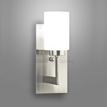 decorative led wall lighting fixture power outlet hotel wall mounted led bed lamp 3101824SN