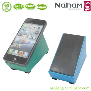 Naham desktop multiple PU cell phone organizer pen holder