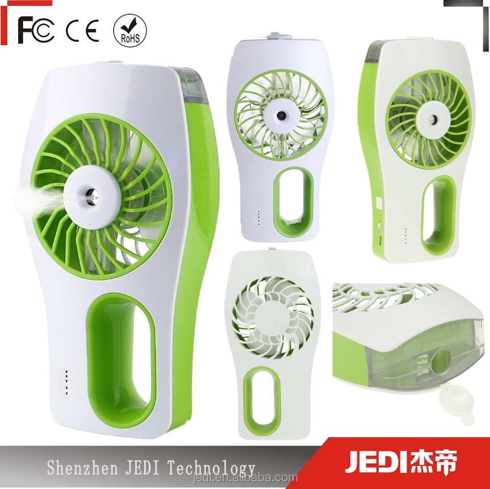 Hot selling mini mist fan portable water spray cooling fan water mist fan_MO1992