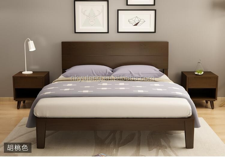 Classtic wooden bed room furniture bedroom set