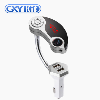 GXYKIT New arrival GT86 audio multi-function car MP3 player with wireless BT FM modulator transmitter
